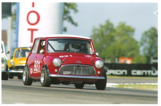 Andy Nelson racing #921 at Watkins Glen, SVRA 2008