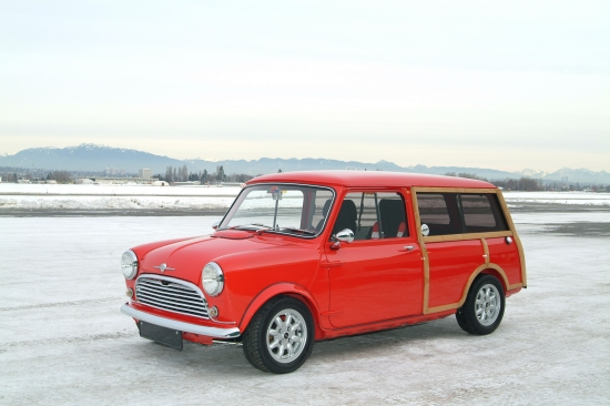 Turbocharged Morris Woody Wagon