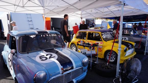Toybox Racing paddock