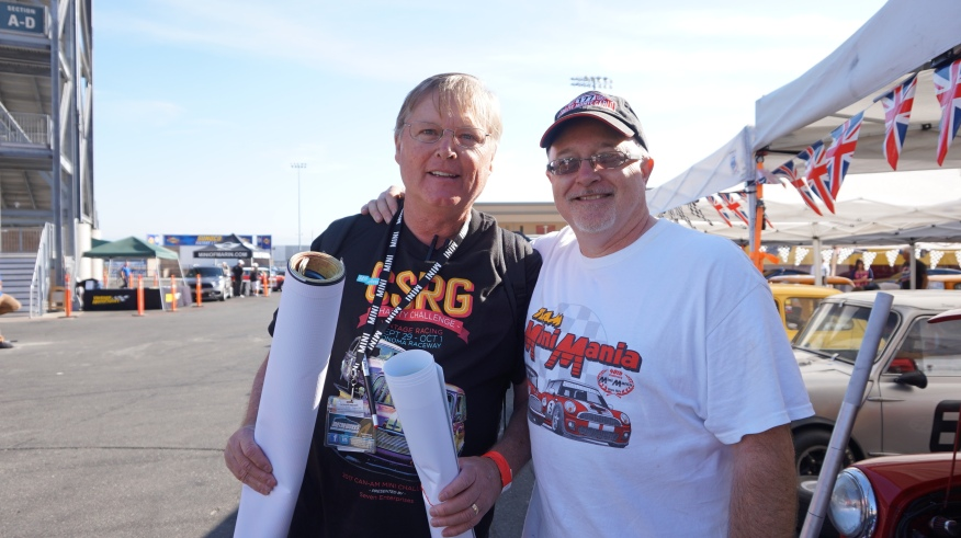 Norman Nelson and Dennis Racine