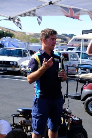 That Endaf Owens guy...Photo credit: Greg Birch