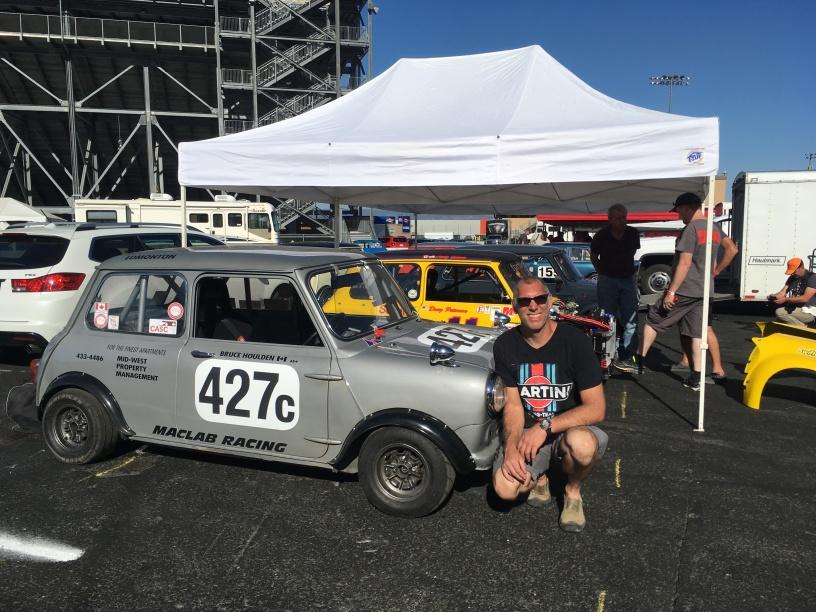 Bruce Houlden & his Trans Am car