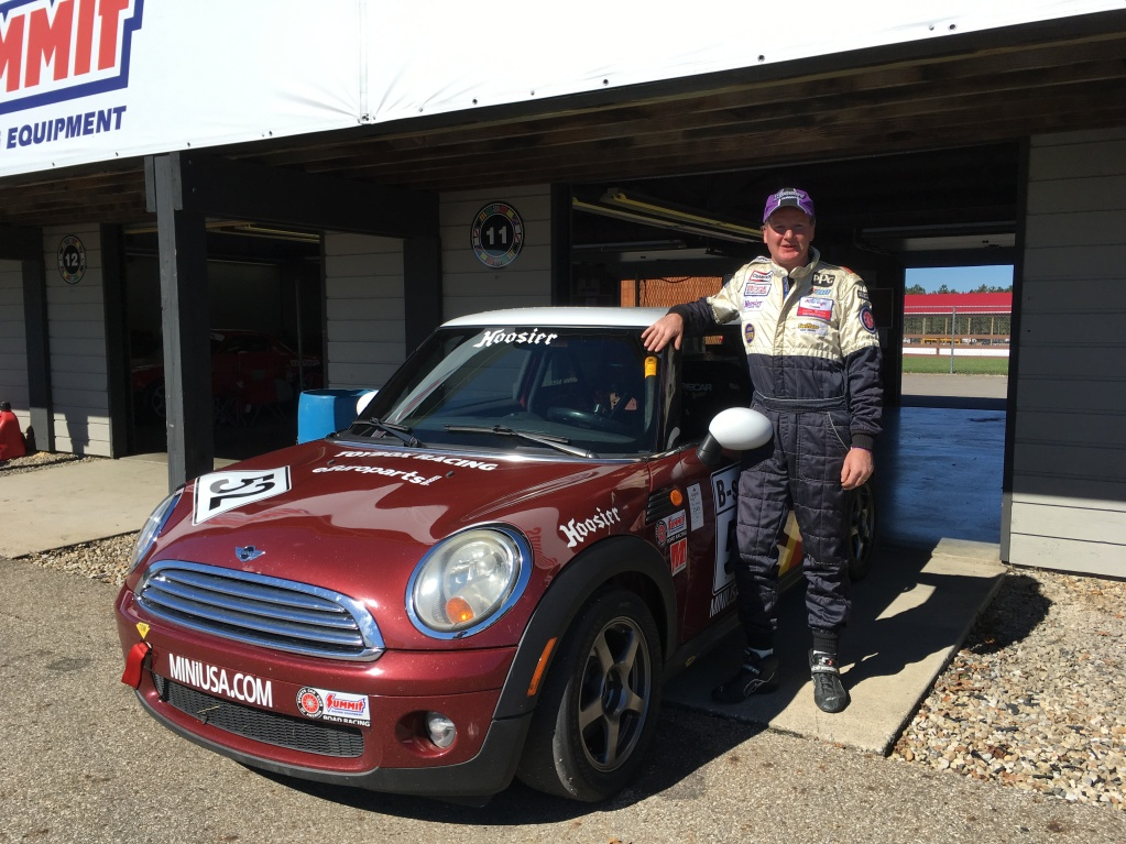 Andy Nelson Car 52 celebrates a successful race weekend