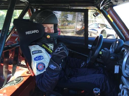 Andy Nelson Car 52 enjoying the race